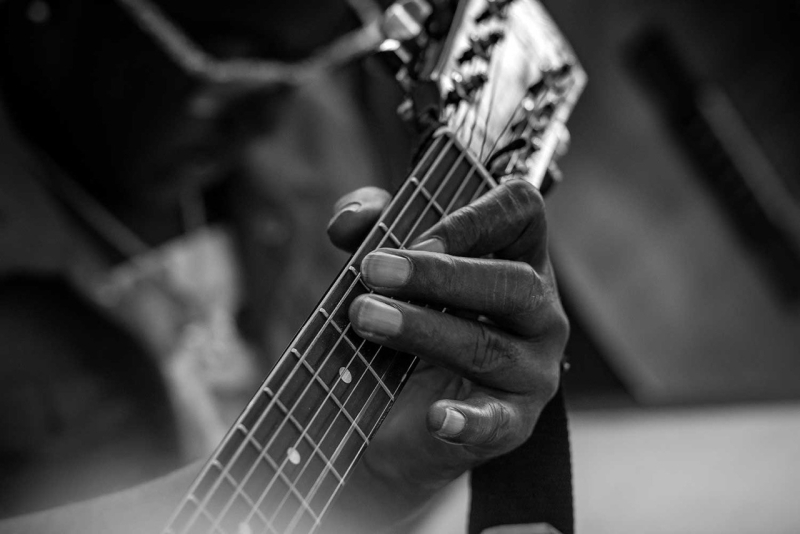 La guitare à Wilfried